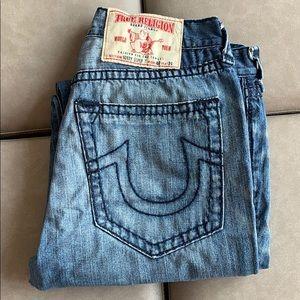 True Religion Bobby Super T Jeans 40W, 30L